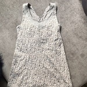 Lululemon Fitted Tank with Open Back